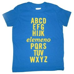 yup- that's exactly how we said the alphabet in LKG (lower kindergarten!)