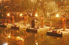 The beautiful view of river #Ganga in #Varanasi..!!