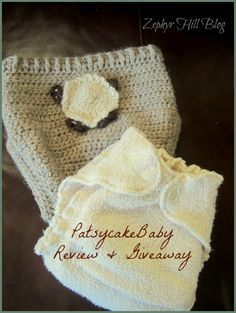 PatsycakeBaby Fitted Diaper and Wool Soaker, plus a Giveaway!
