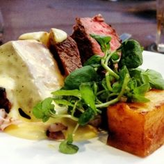Eye Fillet with Miso Hollandaise