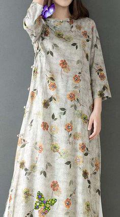 <br> Boho Fashion Fall, Pakistani Fashion Casual, Modest Fashion, Fashion Dresses, Casual Dresses Plus Size, Casual Summer Dresses, Linen Dresses, Cotton Dresses, Chiffon