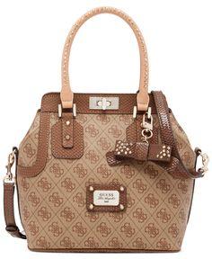 Reg. $118.00/Sale $87.99 GUESS Cheatin Heart Turn-Lock Satchel - Handbags & Accessories - Macy's