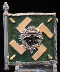 Flags & Standards_Regiment General Goring Charitable Donations, Pin Badges, Flags, Third, National Flag