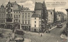1910 , Rynek Staromiejski w Toruniu.