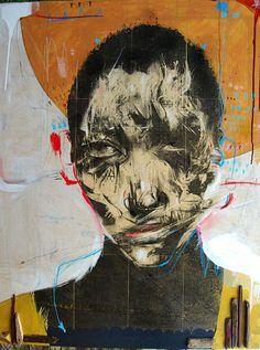 'Guberno Mente' by Russ Mills Digital Portrait, Portrait Art, Portraits, Face Art, Mixed Media Art, Painting & Drawing, Vector Art, Street Art, Drawings