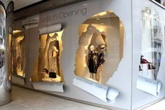 The great reveal - visual merchandising