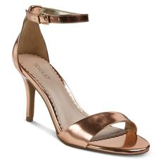 Women's Tevolio Raz Metallic City Heeled Sandals -