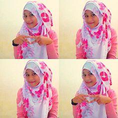 baru nyelesaikan 1 tutorial hijabnya :D