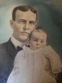 Great grand Father  Roy Allen with his son  Wallace Allen(my mother's Father)