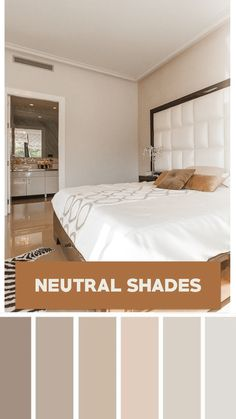 Planning to revamp your dull and lifeless bedroom? It's time to spice up your bedroom with these 10 color schemes. Bedroom Colour Schemes Neutral, Bedroom Colour Palette, Bedroom Wall Colors, Room Ideas Bedroom, Bedroom Decor, Best Colour For Bedroom, Color Schemes For Bedrooms, Home Color Schemes, Relaxing Bedroom Colors
