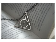 Deathly Hallows Necklace - Rotating Center by FanaticAlley