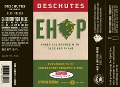 Deschutes EHOP, a Collaboration with Harpoon