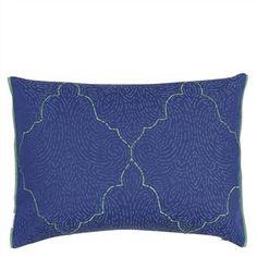 Basilica Cobalt Cushion