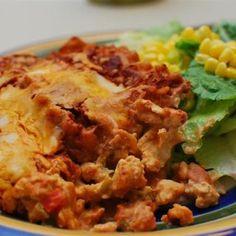 Spicy Mexican Chicken Lasagne