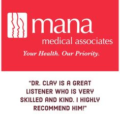 Learn more about Dr. Clay.