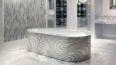 Mosaic Bathtub tiles - SICIS