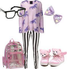 """""""Pastel goth"""" by twisted-candy on Polyvore"""