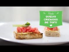 Queijo Cremoso de Tofu (Tofupiry) - Vegano