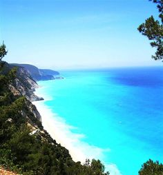 Egremnoi beach, Lefkada island ~ Greece
