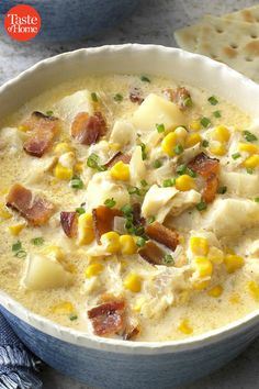 Country Fish Chowder - Taste of Home Best Soup Recipes, Chowder Recipes, Fish Recipes, Dinner Recipes, Favorite Recipes, Chili Recipes, Home Recipes, Steak Recipes, Gastronomia