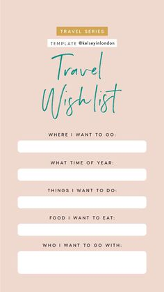 Travel bucket lists travel this or that travel quiz 7 bucket list в 2 Travel Checklist, Travel List, Travel Guide, Instagram Story Questions, Instagram Story Template, Instagram Templates, I Want To Travel, Travel Quotes, Trip Planning