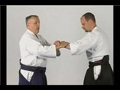 Aikido Nikyo Wrist Lock Defenses : Aikido Single Wrist Grab Self Defense - YouTube
