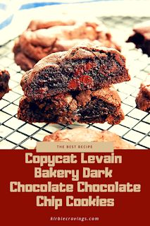 The best recipe Copycat Levain Bakery Dark Chocolate Chocolate Chip Cookies Chocolate Chocolate, Chocolate Chip Cookies, Vegan Dessert Recipes, Cake Recipes, Easy Snacks, Easy Meals, Levain Bakery, Find Recipe, Party Desserts