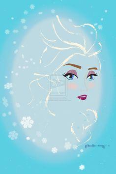 "Elsa from ""Frozen"". Elsa Frozen, Disney Frozen, Disney Pixar, Walt Disney, Frozen Heart, Disney Theme, Real Disney Princesses, Frozen Characters, Disney Drawings"