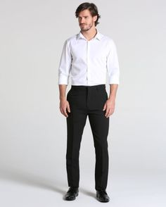 Calça Social Básica Ideias Fashion, Suits, Style, Pant Suits, Dress Wedding, Dinner Suit, Moda Masculina, Men, Vestidos