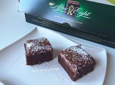 Fun at Sassy's Kitchen: After Eight Brownie by Angela Seah Thulin