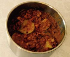 Recipe Vegetarian Bean, Chickpea & Lentil Curry by Wendy Farrelly - Recipe of category Main dishes - vegetarian
