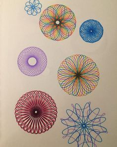 When the things you loved become the things they love. #Spirograph #ClassicToy