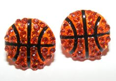 Stud Basketball Earrings - I want these!!!