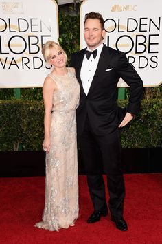 Anna Faris and Chris Pratt ~