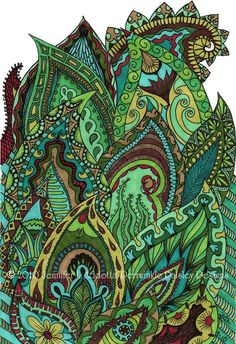 Periwinkle-Paisley: Paisley Garden