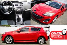¡¡¡#Mazda3 2010!!! Excelentes Condiciones, como Nueva, desde $289 al mes. LLAMA AHORA (787)653-9300 http://www.calesatoyota.com/inventario/detalles/?mazda-mazda3-s-grand-touring-2010-841