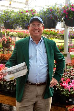 "Jim Webster, owner of The Barn Nursery, welcomes you with ""Augusta Green"" service! Stop at The Barn Nursery, exit 181, Chattanooga, on your way to the Masters.  We feature trees featured at Augusta National.   Designer, clean restrooms, complimentary coffee, and a serendipity shopping experience!    As Jim Webster says ""It's Springtime, now go play in the yard."""