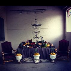 Feast styling complete!
