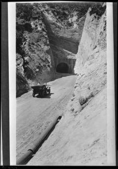 Newhall Tunnel, Newhall :: Automobile Club of Southern California collection, 1892-1963