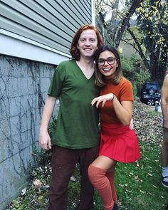 Pin for Later: 27 Costumes For 30-Somethings That Won't Break the Bank Shaggy and Velma