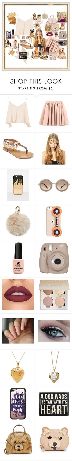 """""""Dogs Life and Dove!"""" by explorer-14332525079 ❤ liked on Polyvore featuring Topshop, Penny Loves Kenny, Missguided, Miu Miu, Furla, Fendi, Red Carpet Manicure, Fujifilm, Poporcelain and Casetify"""