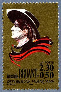 Zoom sur le timbre «Aristide Bruant La chanson française»