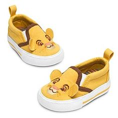 Disney Simba Sneakers for Baby | Disney StoreSimba Sneakers for Baby - They'll walk with pride in these cute Simba Sneakers. The young Lion King's smiling face is embroidered on the toes of these canvas sneakers while his ears stick out so he'll hear baby's footsteps.