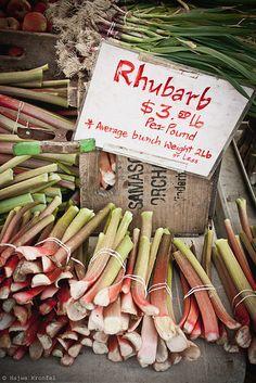 Rhubarb by Delicious Shots, via Flickr