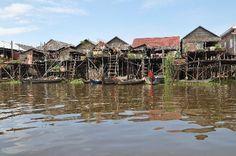 Tonle Sap Lake - stilt villages  http://www.tripadvisor.com/Attraction_Review-g293939-d324854-Reviews-Tonle_Sap_Lake-Cambodia.html