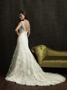 Allure Bridals 'Lace & Satin' size 4 new wedding dress - Nearly Newlywed