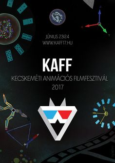 KAFF 2017 Unofficial Design #kecskemét #BryStyle Made at the Media and Design Department, Visual Arts Institute, Eger, Hungary. #madeineger #mdteger #unieger #visualeger #madeinvmi #vizualismuveszetiintezet #eger #visualartsinstitute #hungary #graphicdesign