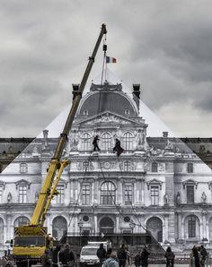 La historia detrás de la desaparición del Louvre