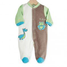 Trop craquant ce pyjama naissance aux couleurs tendances #naissance #pyjama #bébé