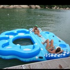 What?! Flippin awesome! Perfect for the lake.